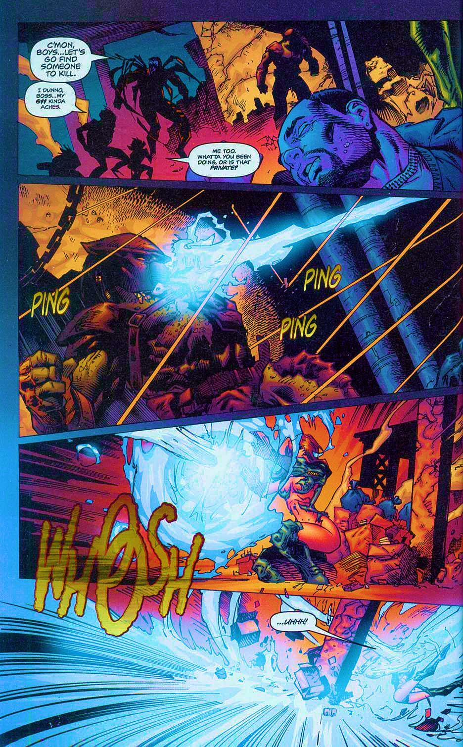 Read online Overkill: Witchblade/Aliens/Darkness/Predator comic -  Issue #2 - 27