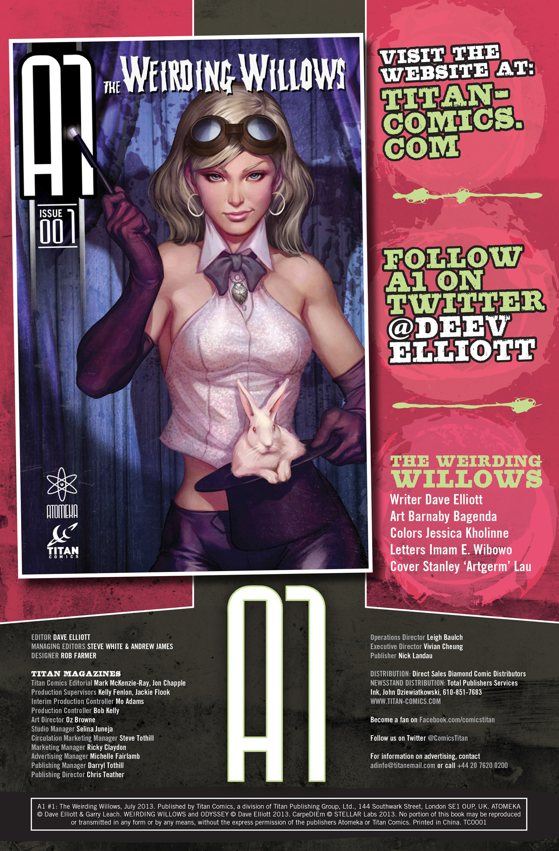 Read online A1 Presents The Weirding Willows comic -  Issue #A1 Presents The Weirding Willows Full - 2