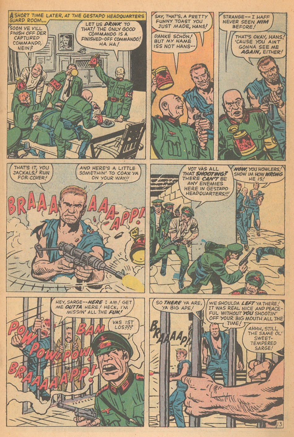 Read online Sgt. Fury comic -  Issue #95 - 19