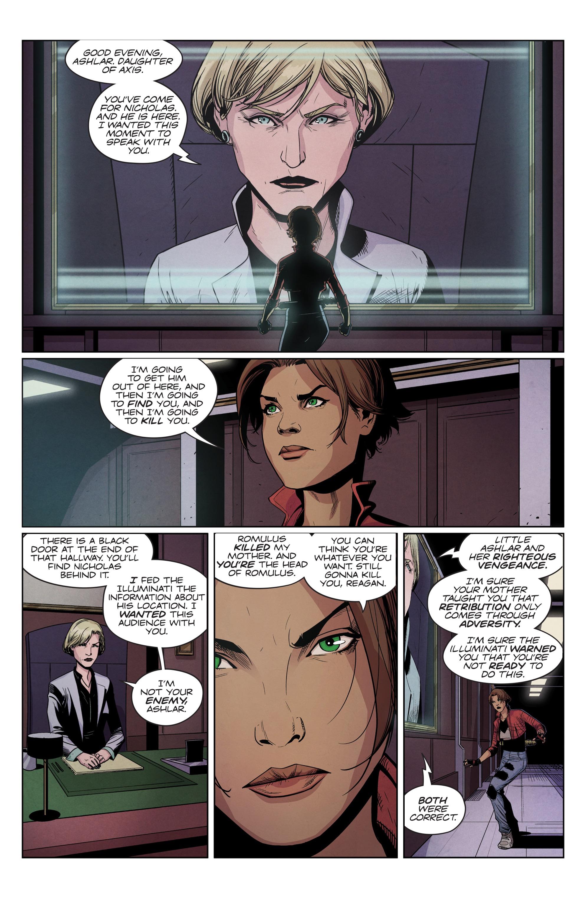 Read online Romulus comic -  Issue #4 - 5