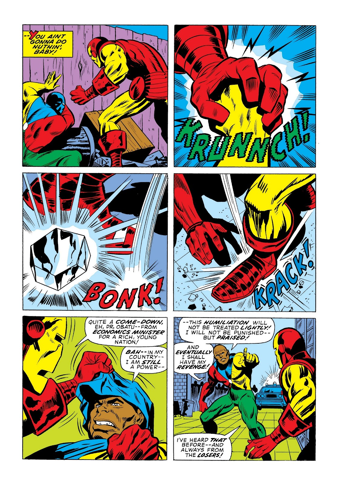 Read online Marvel Masterworks: The Invincible Iron Man comic -  Issue # TPB 9 (Part 3) - 69