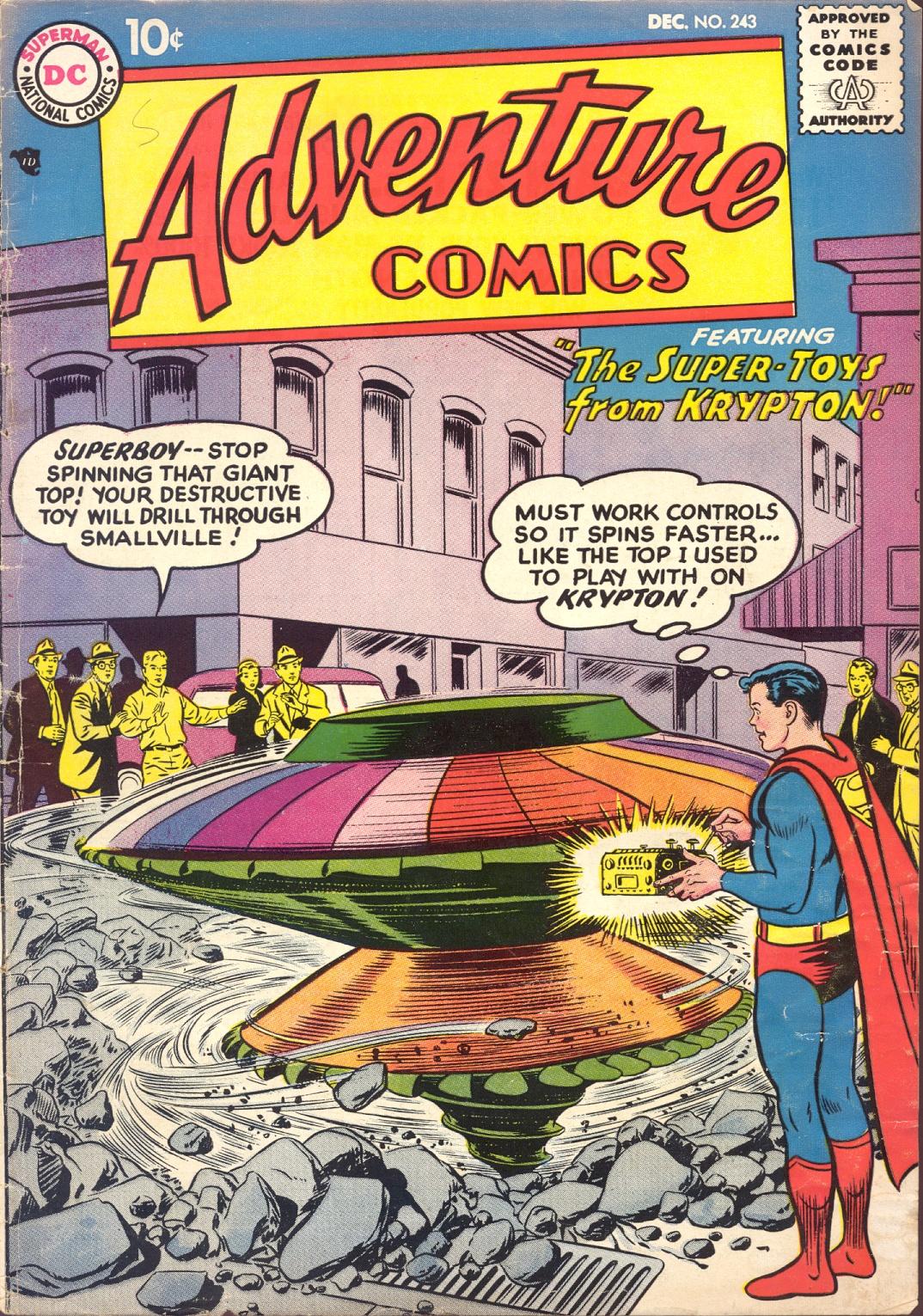 Adventure Comics (1938) 243 Page 1