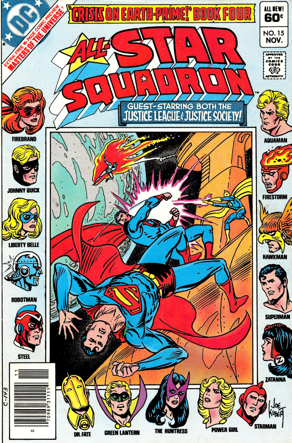 Read online All-Star Squadron comic -  Issue #15 - 1