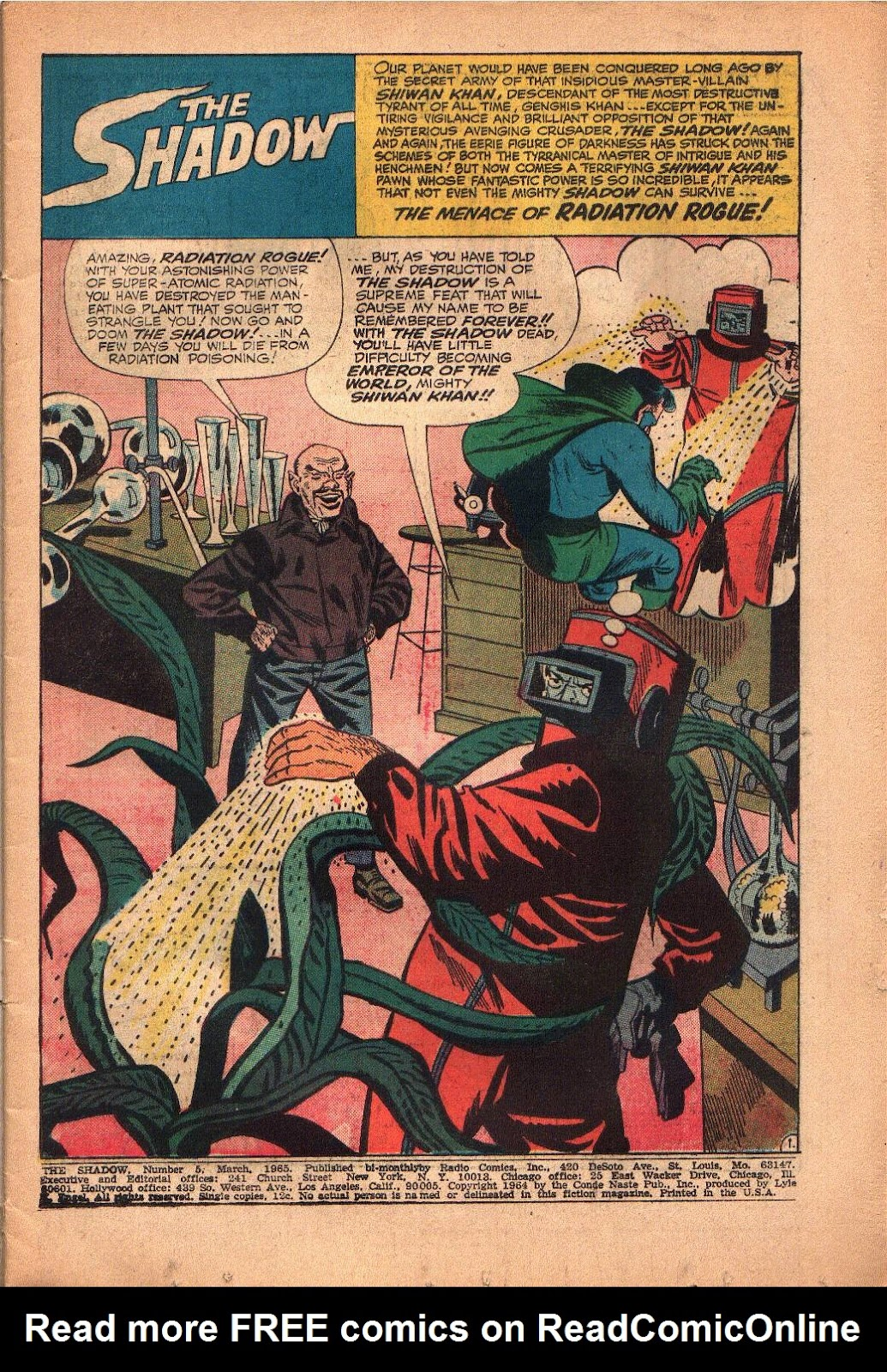 The Shadow (1964) 5 Page 2