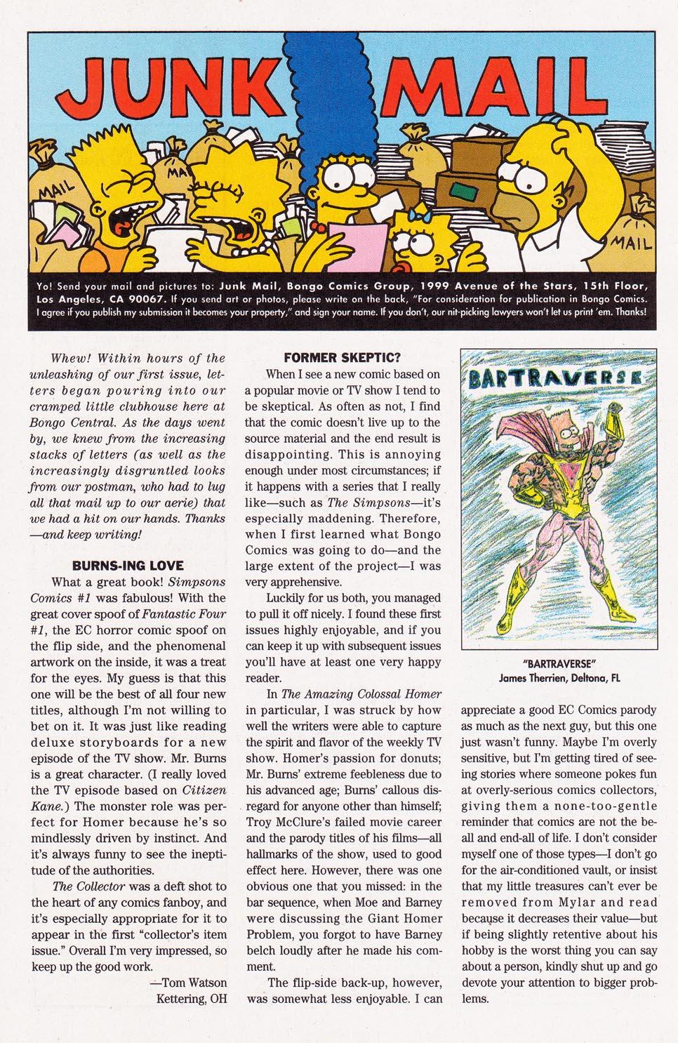 Read online Simpsons Comics comic -  Issue #2 - 32