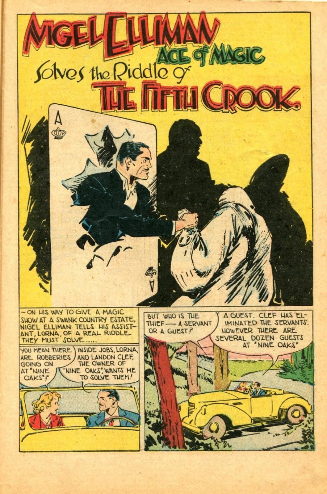 Read online Super-Magician Comics comic -  Issue #49 - 43