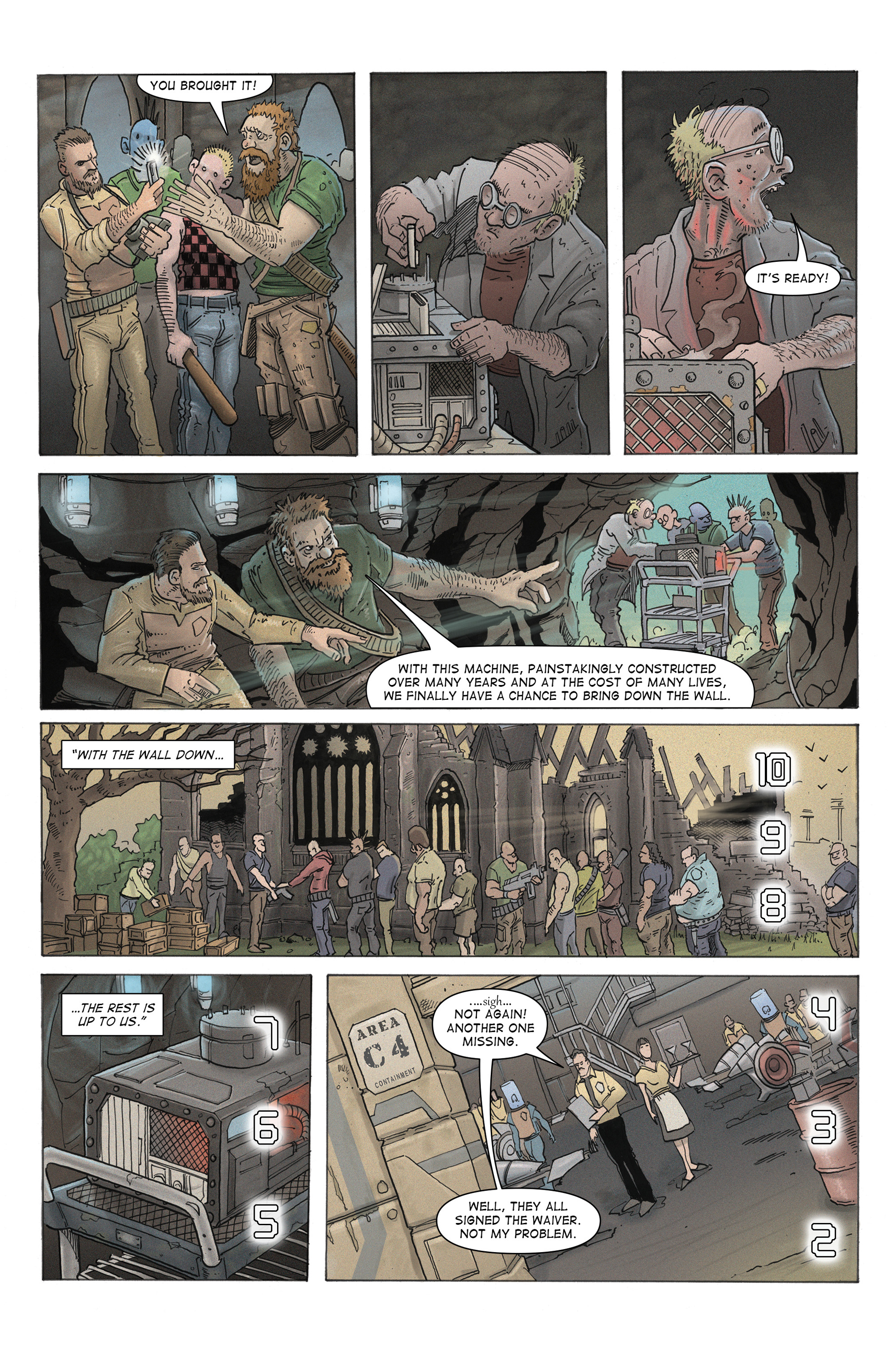 Read online 100% Biodegradable comic -  Issue #12 - 32
