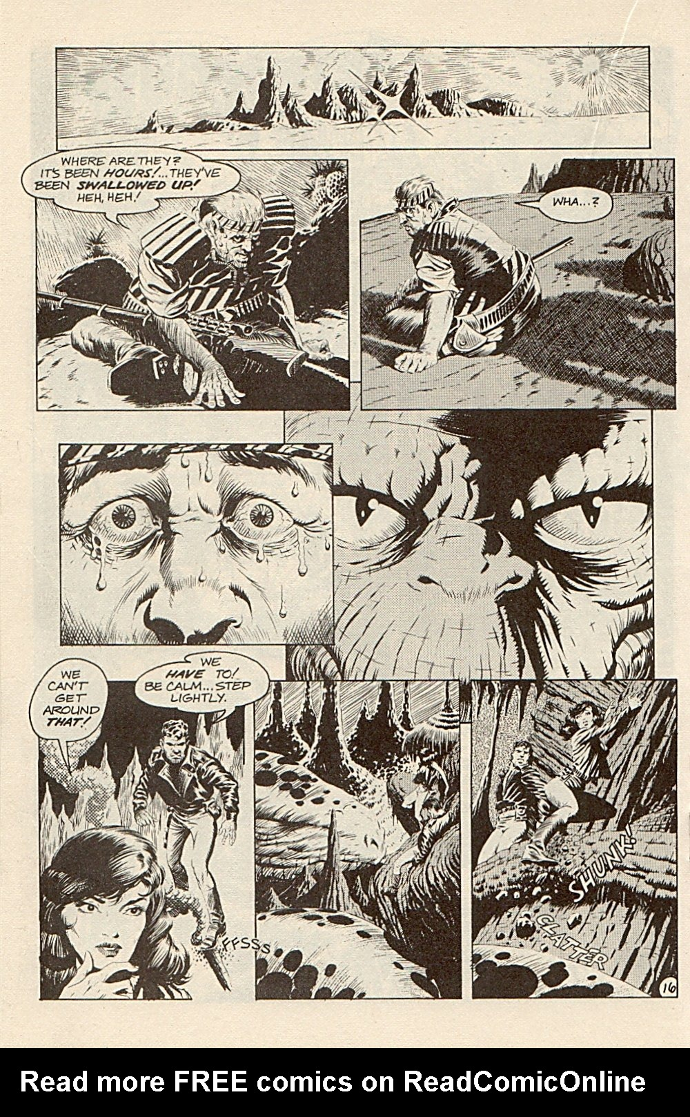 Read online Xenozoic Tales comic -  Issue #3 - 19