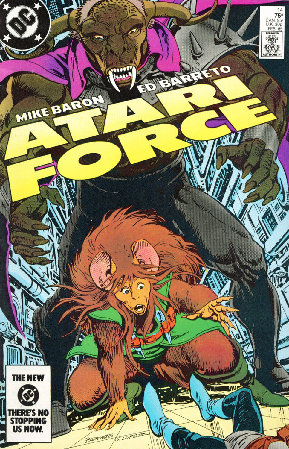 Read online Atari Force (1984) comic -  Issue #14 - 2