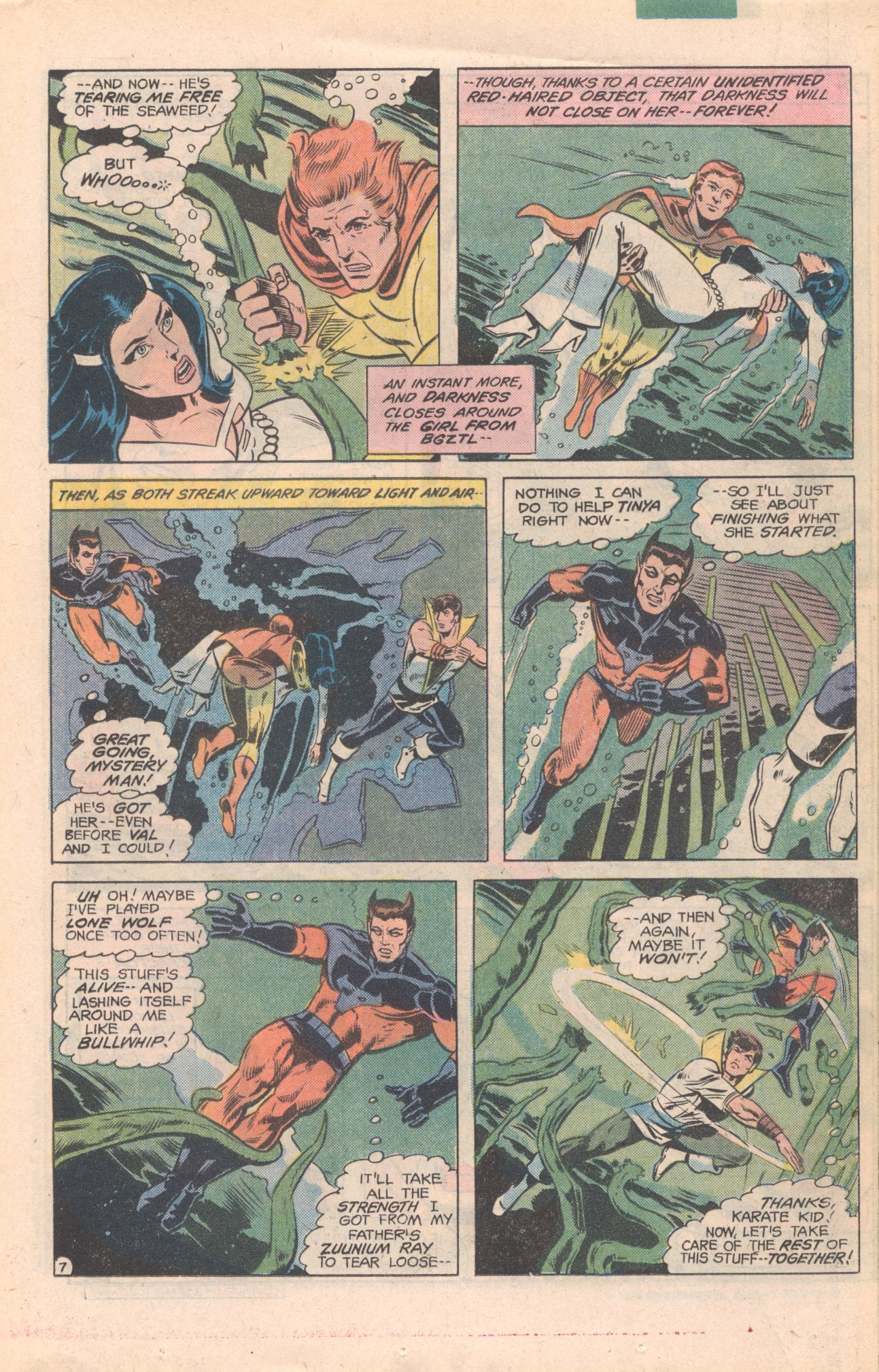 Legion of Super-Heroes (1980) 277 Page 7