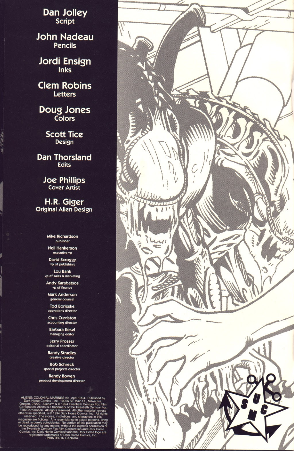 Read online Aliens: Colonial Marines comic -  Issue #9 - 2