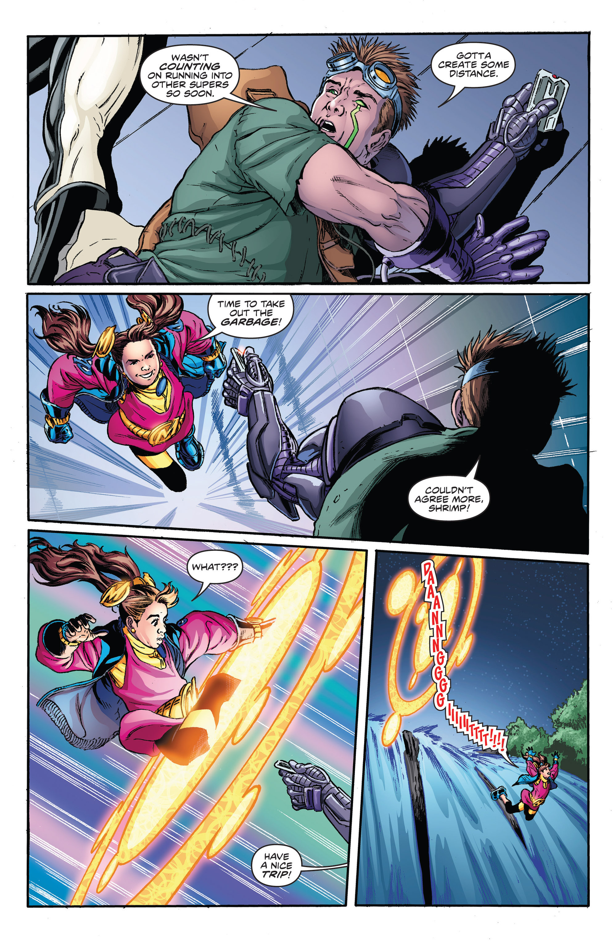 Read online Actionverse comic -  Issue #2 - 16
