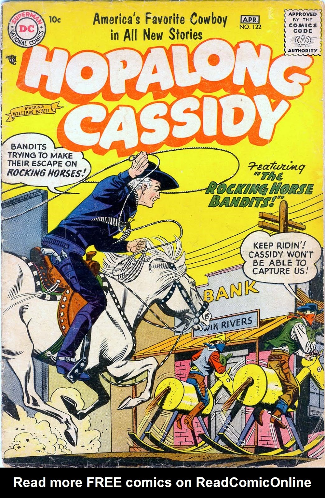 Hopalong Cassidy issue 122 - Page 1