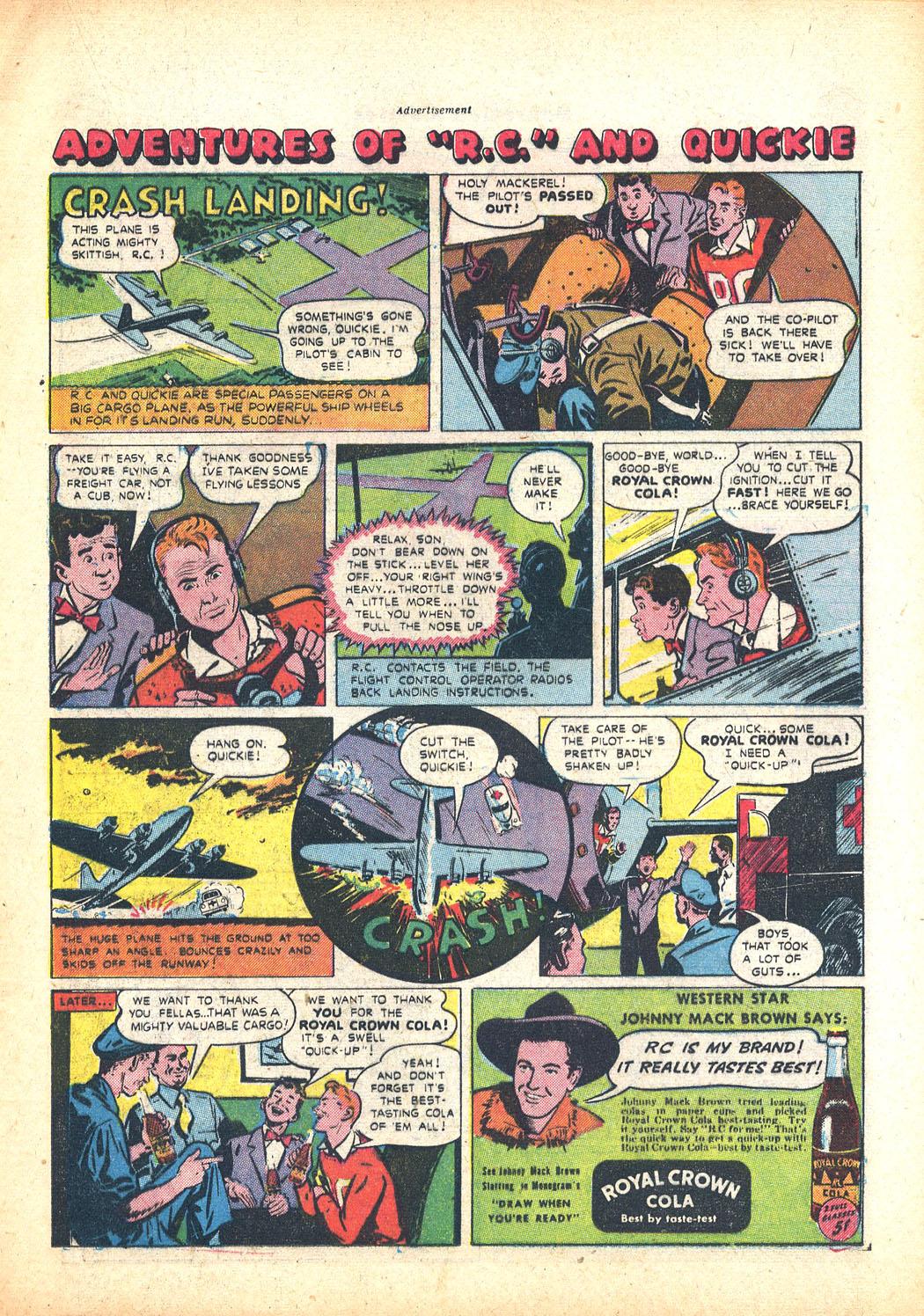 Read online Sensation (Mystery) Comics comic -  Issue #63 - 23