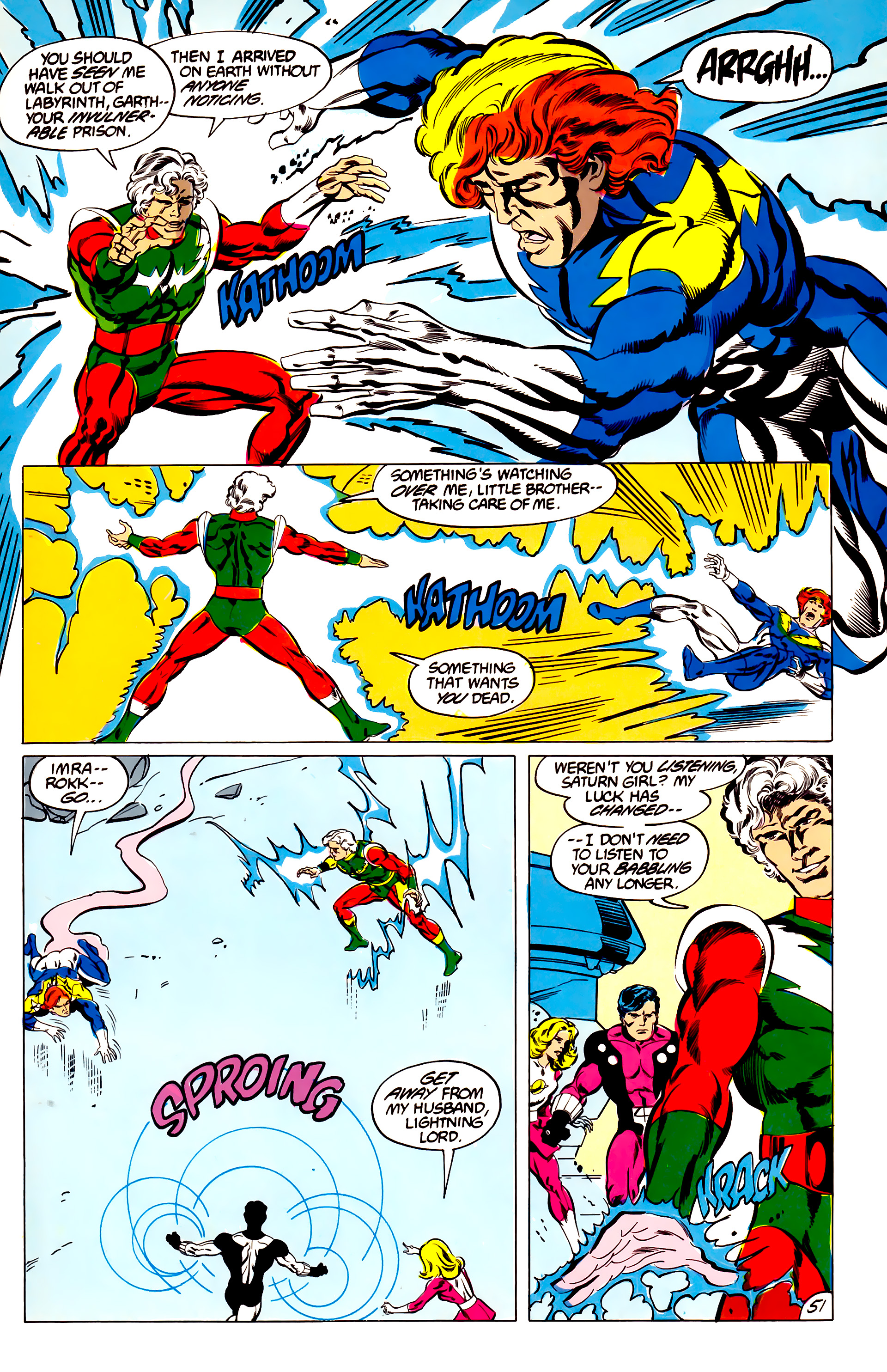 Legion of Super-Heroes (1984) 45 Page 50