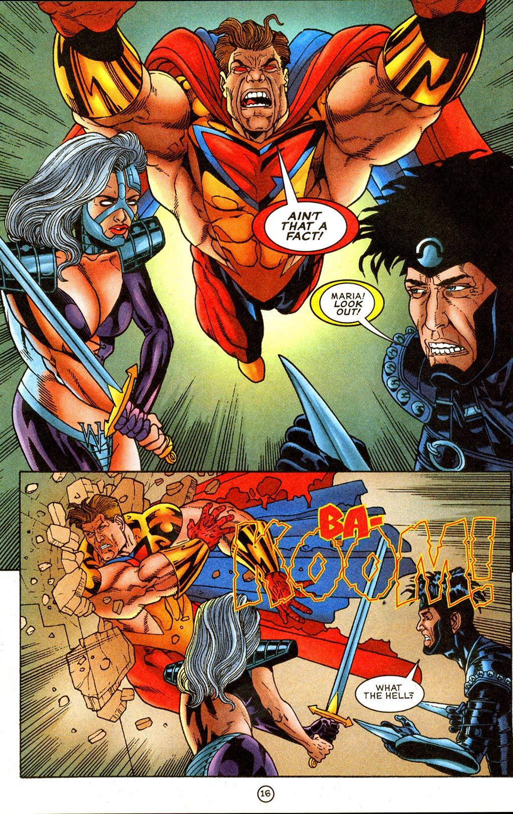 Read online UltraForce (1995) comic -  Issue #9 - 16