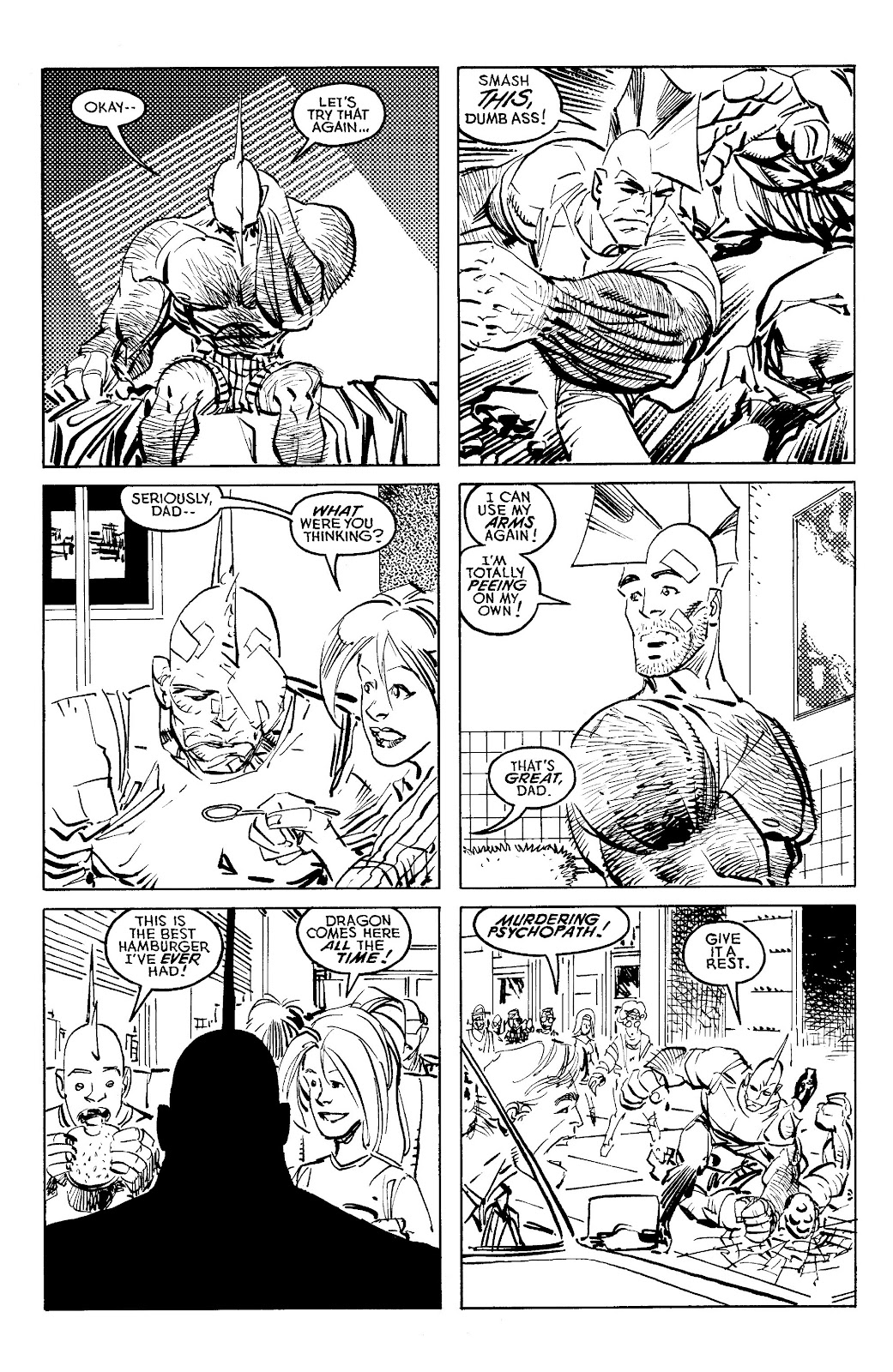 Read online Savage Dragon Archives comic -  Issue # TPB 6 (Part 4) - 57