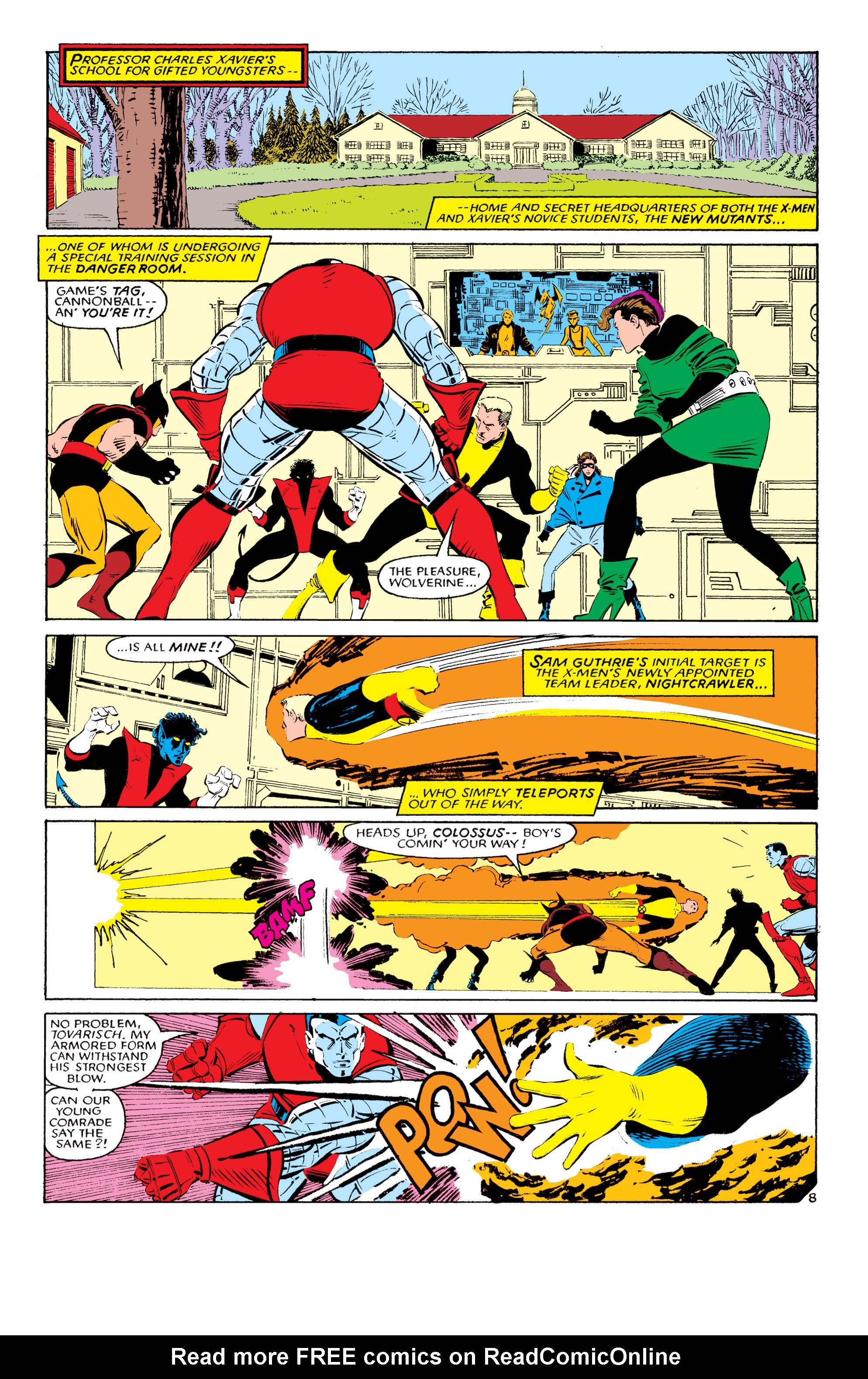Read online Uncanny X-Men (1963) comic -  Issue #193 - 9