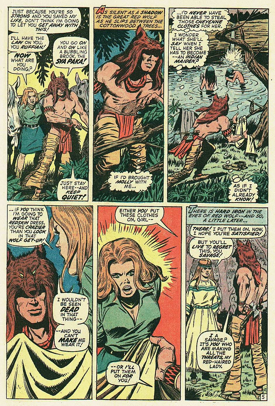 Red Wolf (1972) issue 2 - Page 6