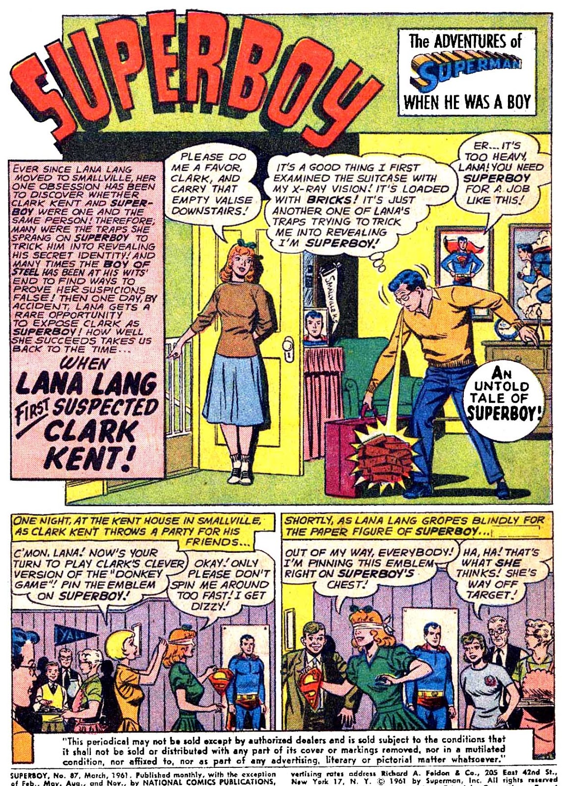 Superboy (1949) issue 87 - Page 2