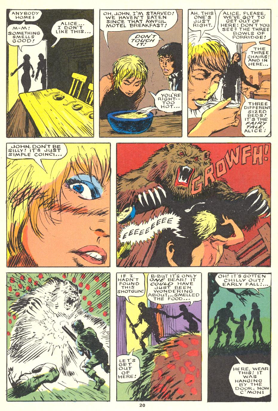 Read online Twisted Tales (1982) comic -  Issue #1 - 21