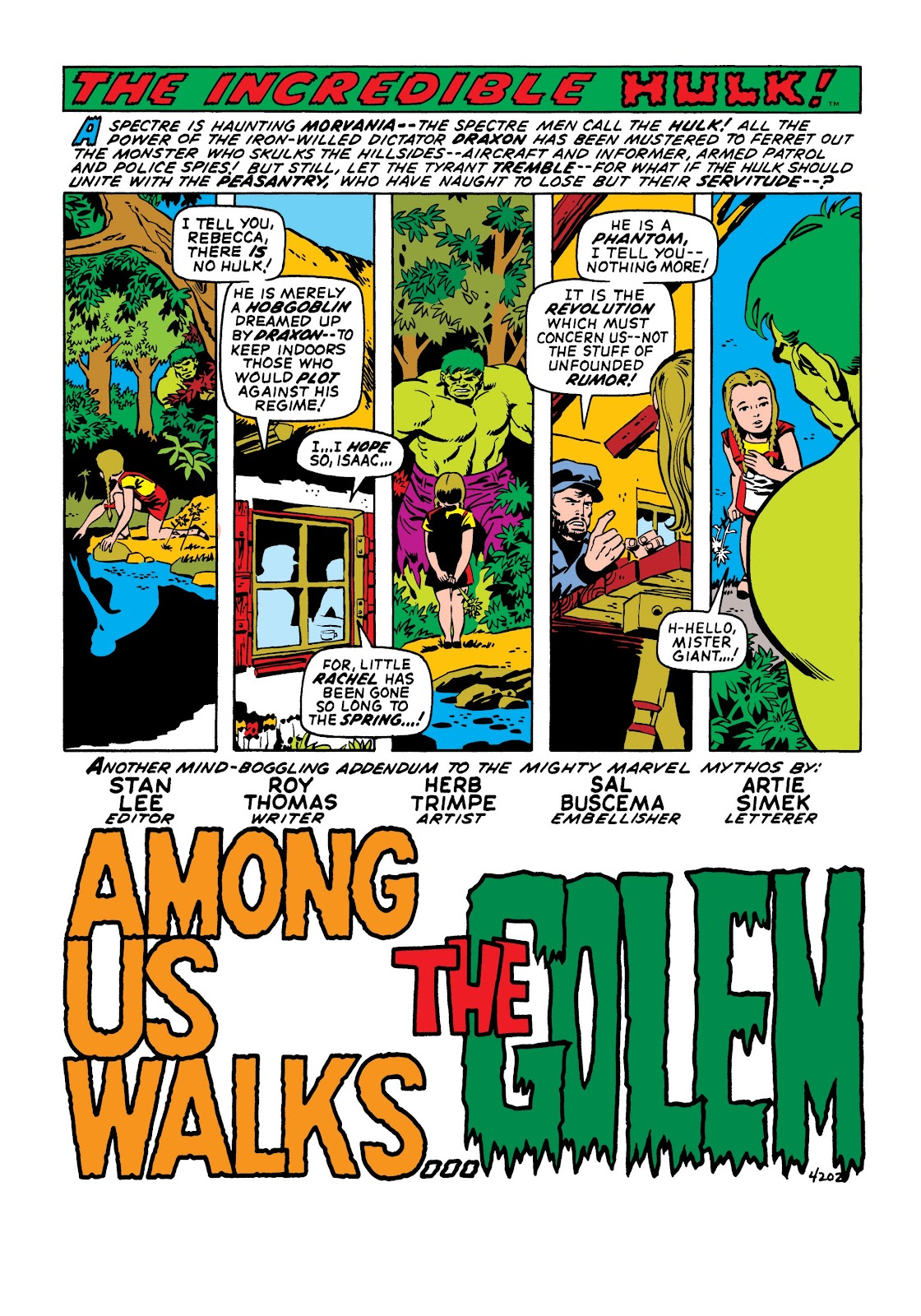 Read online Marvel Masterworks: The Incredible Hulk comic -  Issue # TPB 6 (Part 3) - 55