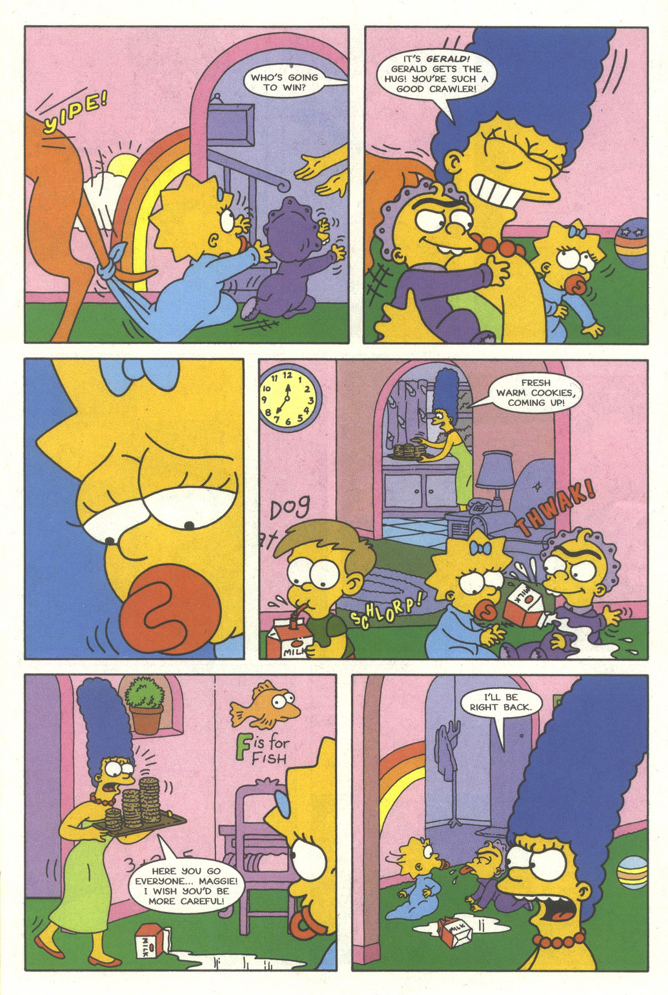 Read online Simpsons Comics comic -  Issue #35 - 10
