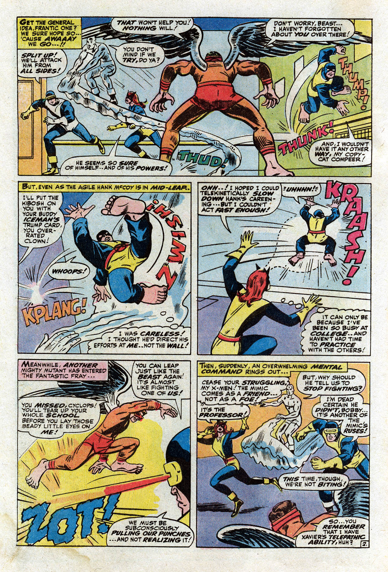 Read online Uncanny X-Men (1963) comic -  Issue #75 - 4