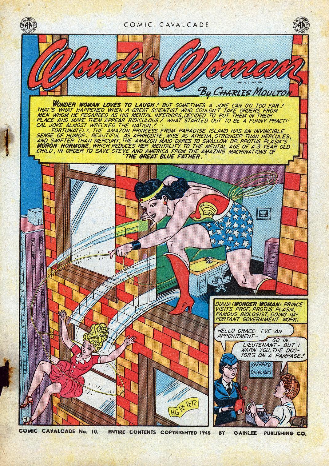 Comic Cavalcade issue 10 - Page 3