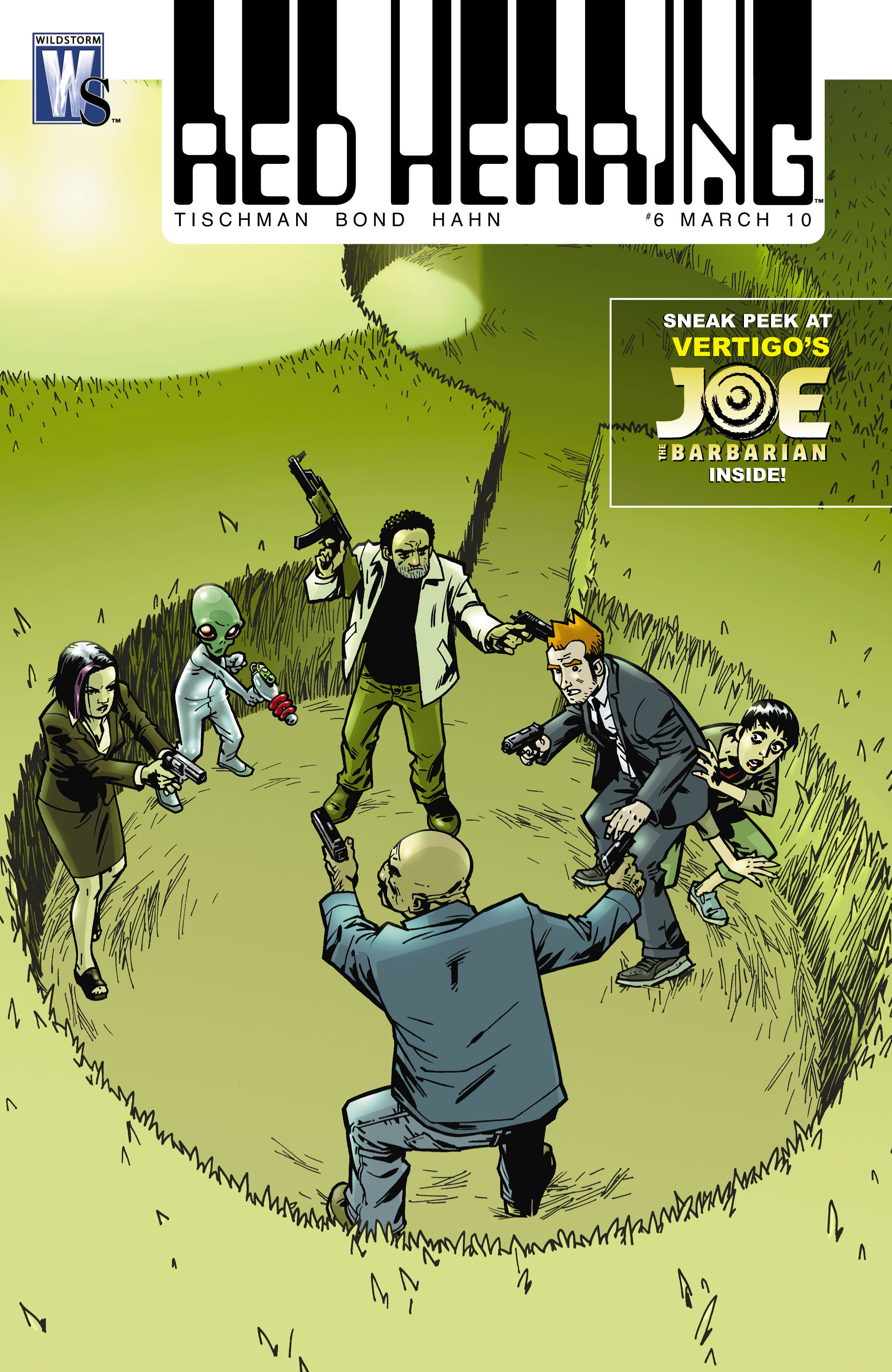 Read online Red Herring comic -  Issue #6 - 1