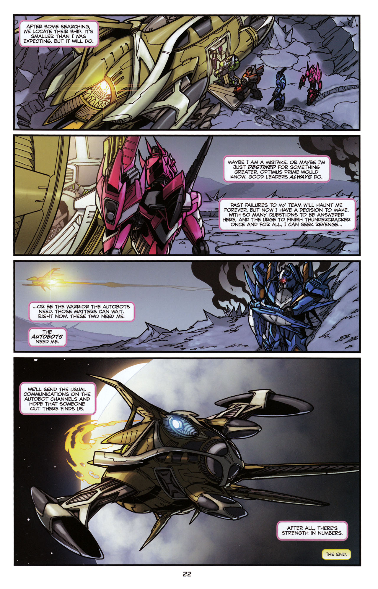 Read online Transformers: Tales of The Fallen comic -  Issue #6 - 24
