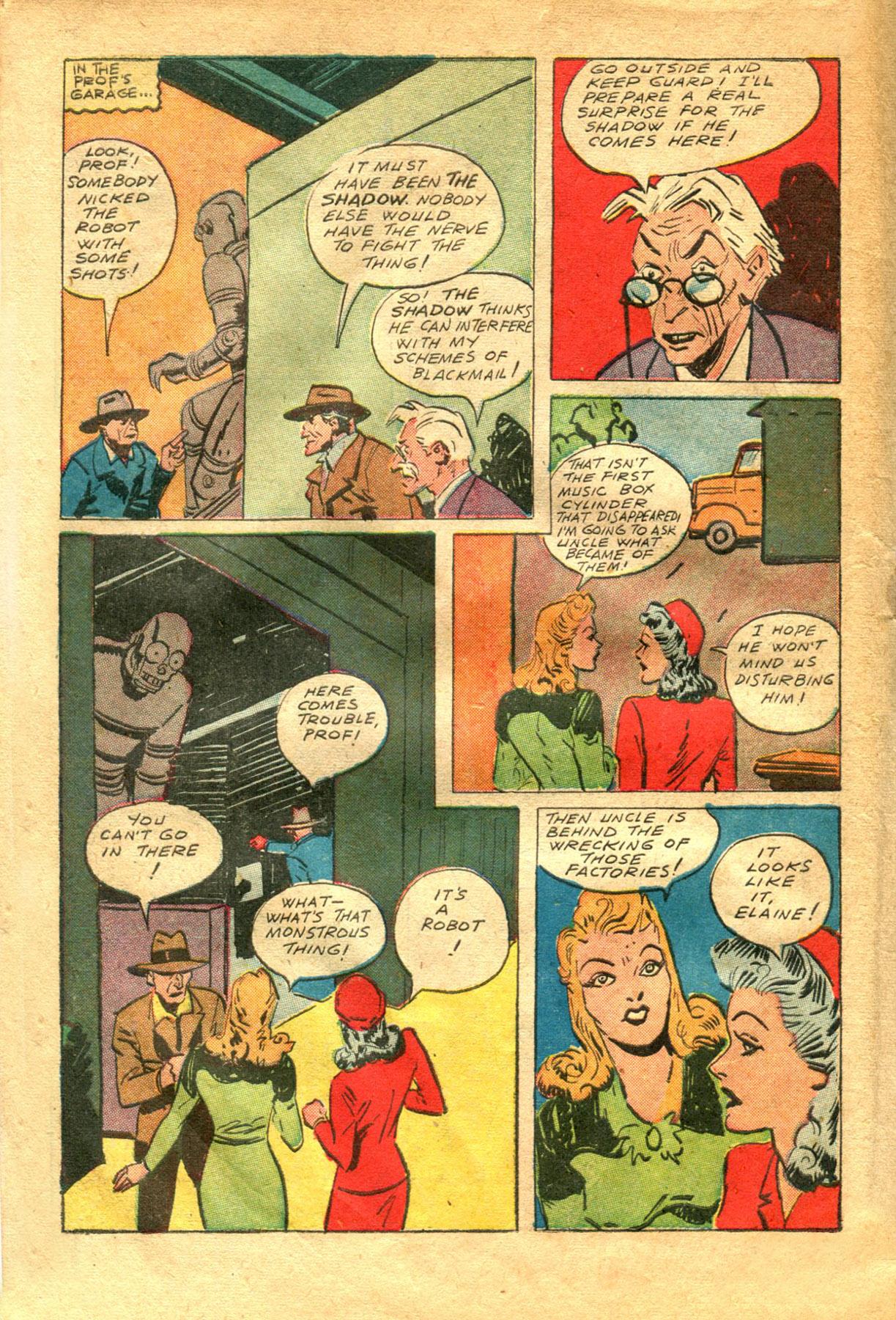 Read online Shadow Comics comic -  Issue #48 - 42