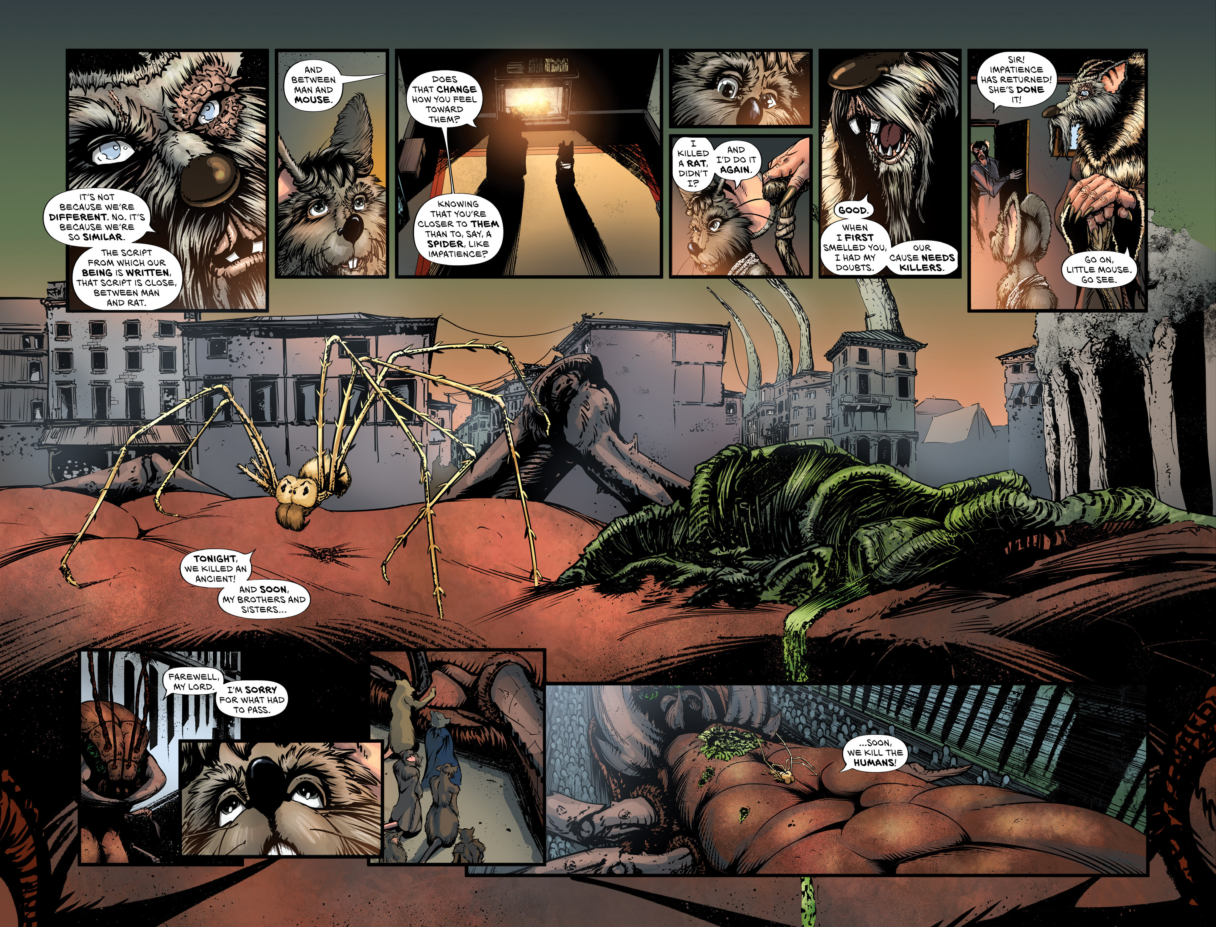 Read online Wretched Things comic -  Issue #3 - 23