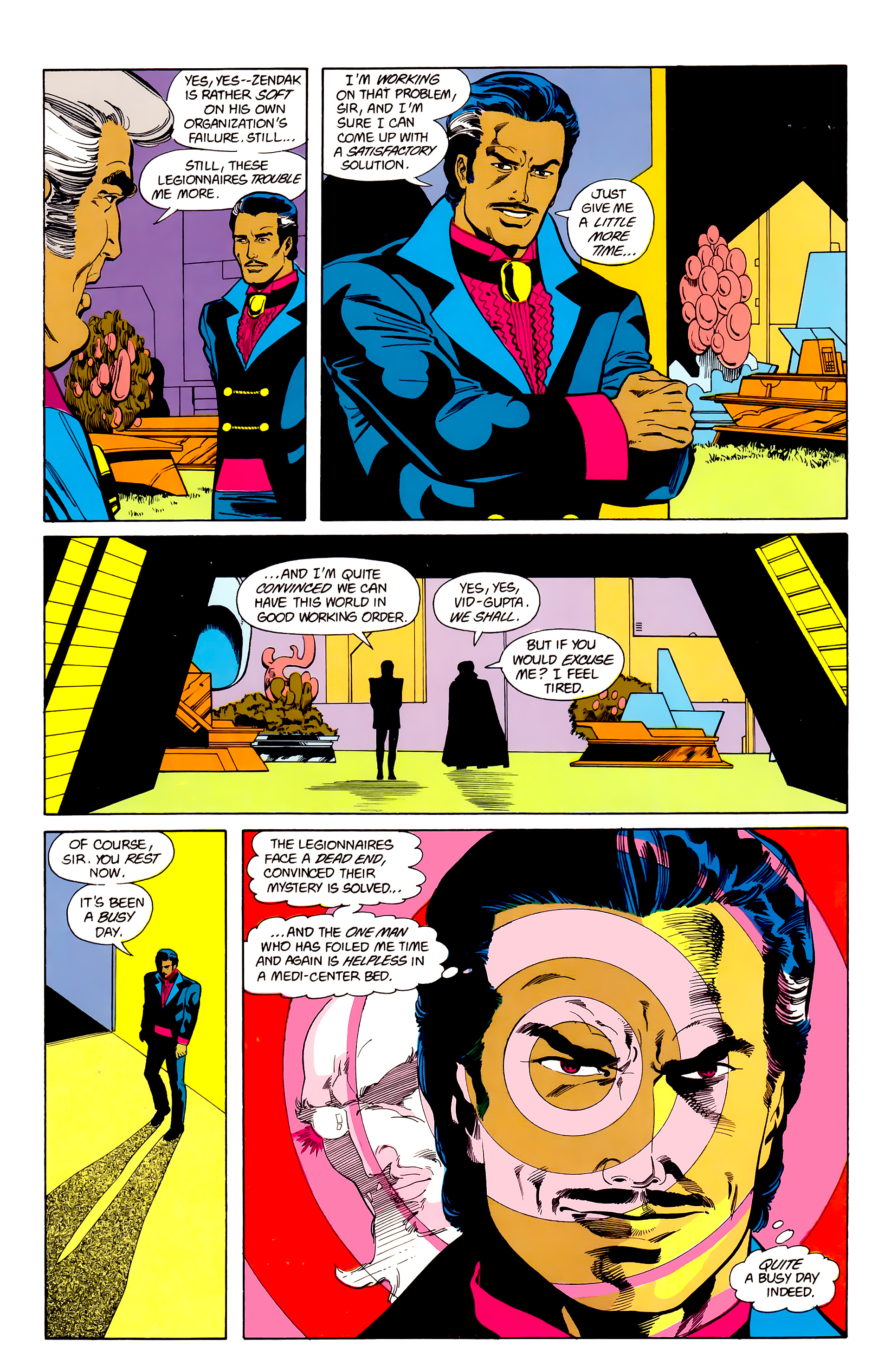 Legion of Super-Heroes (1984) 22 Page 29