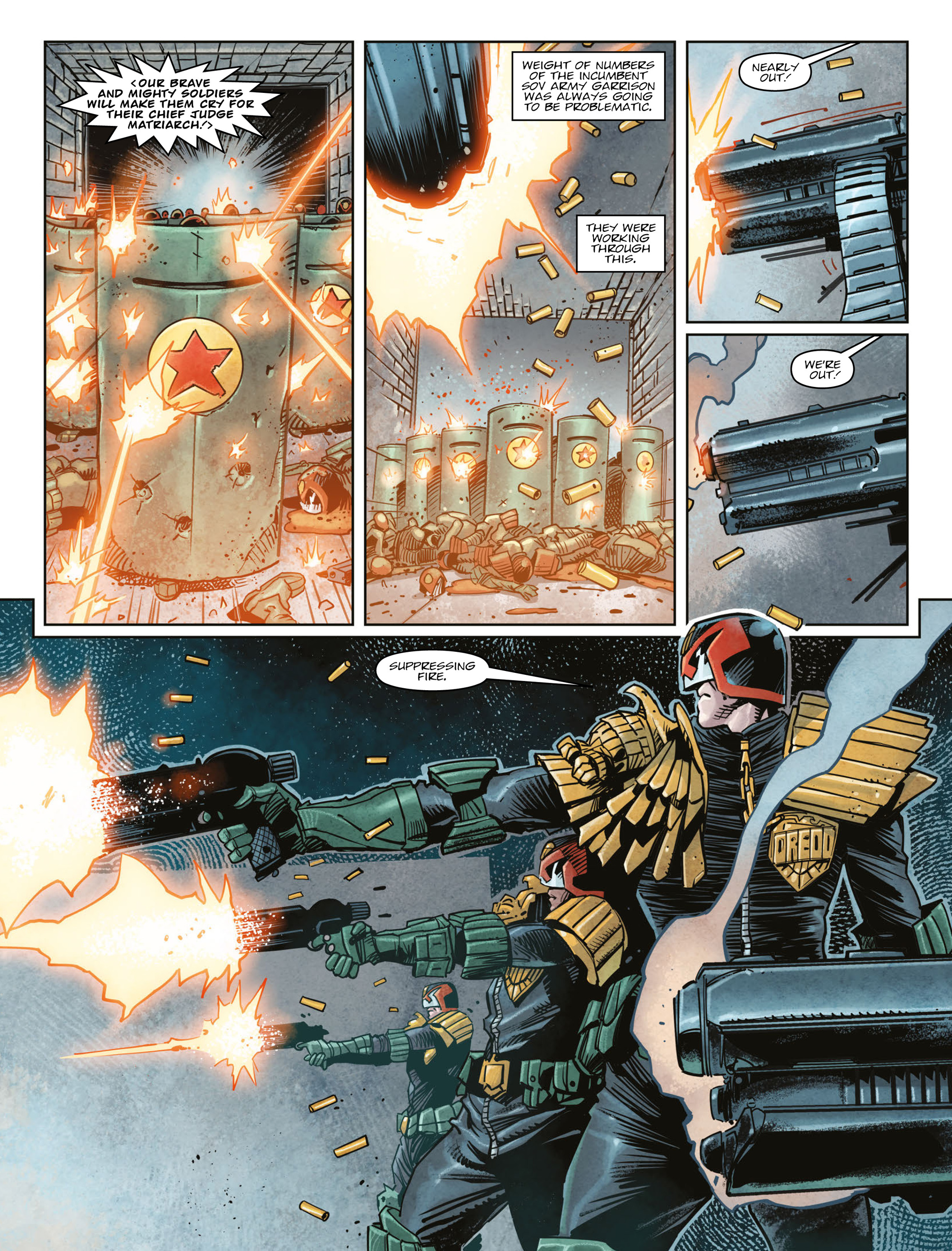 Read online 2000 AD comic -  Issue #2003 - 4