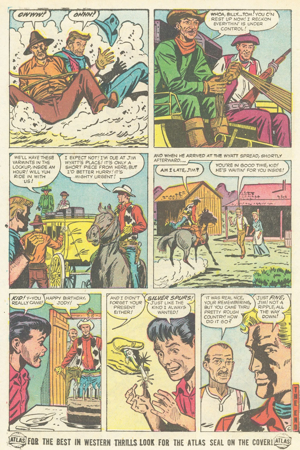 Kid Colt Outlaw issue 52 - Page 16