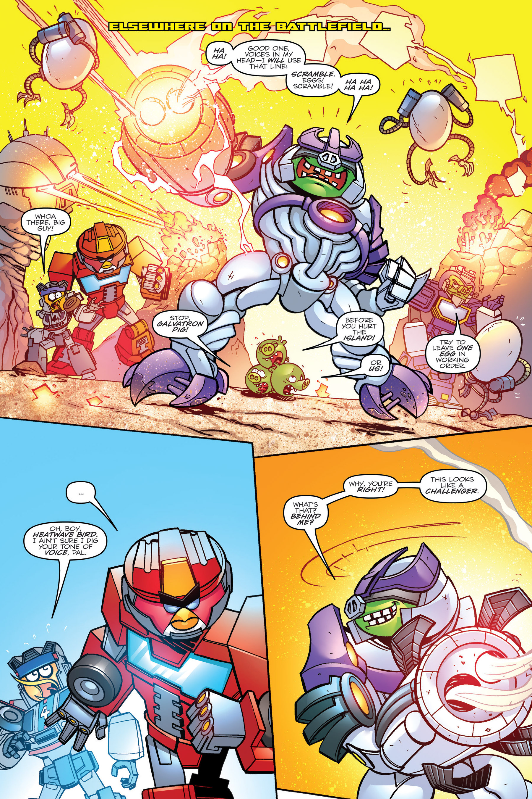 Read online Angry Birds Transformers: Age of Eggstinction comic -  Issue # Full - 57