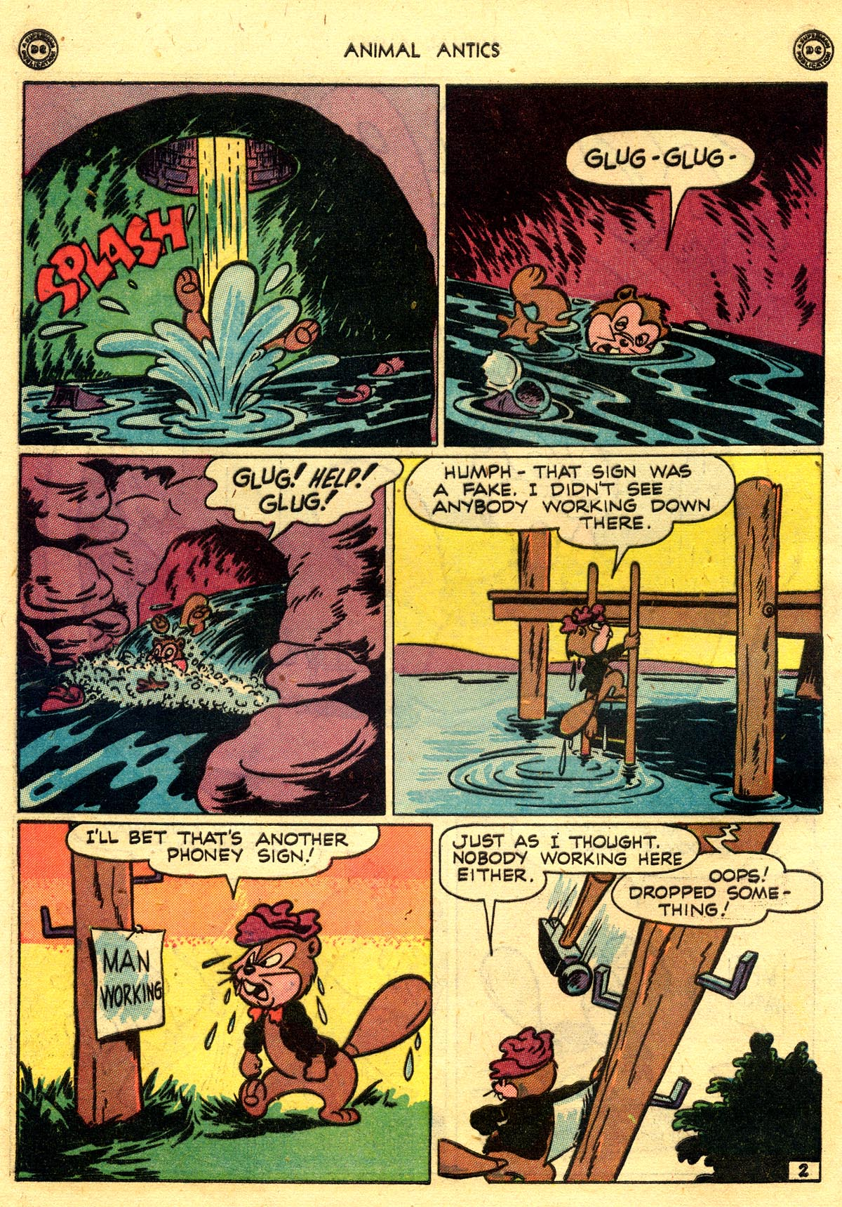 Read online Animal Antics comic -  Issue #10 - 40