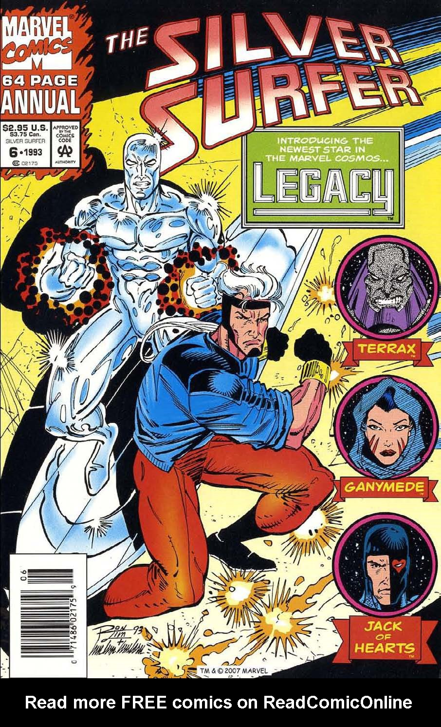Read online Silver Surfer (1987) comic -  Issue # _Annual 6 - 1