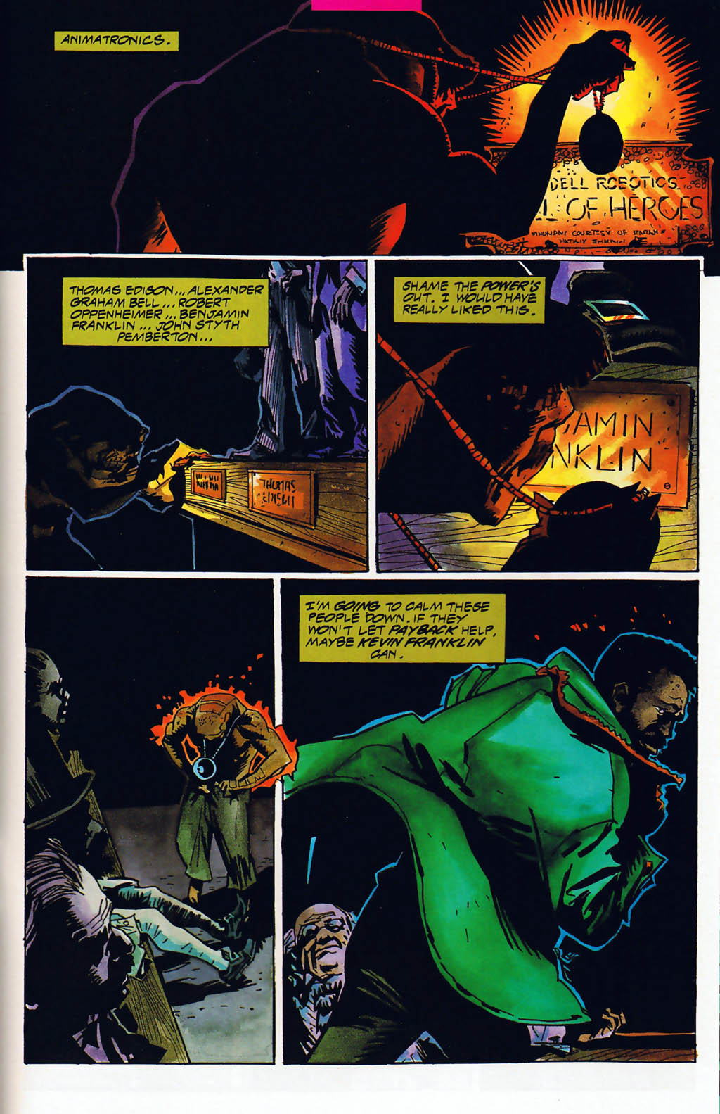 Read online Shadow Cabinet comic -  Issue #15 - 19