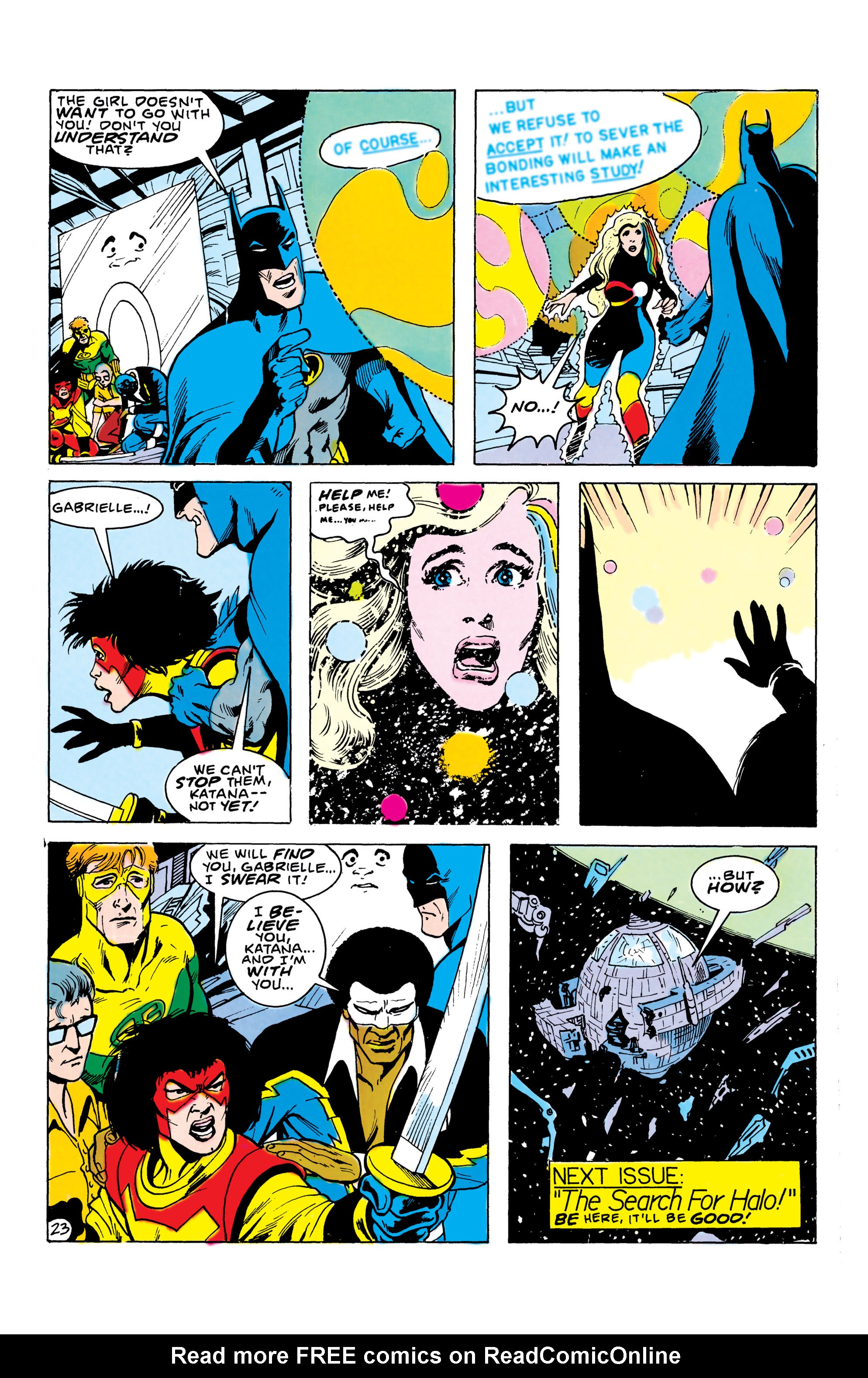 Batman and the Outsiders (1983) 22 Page 23