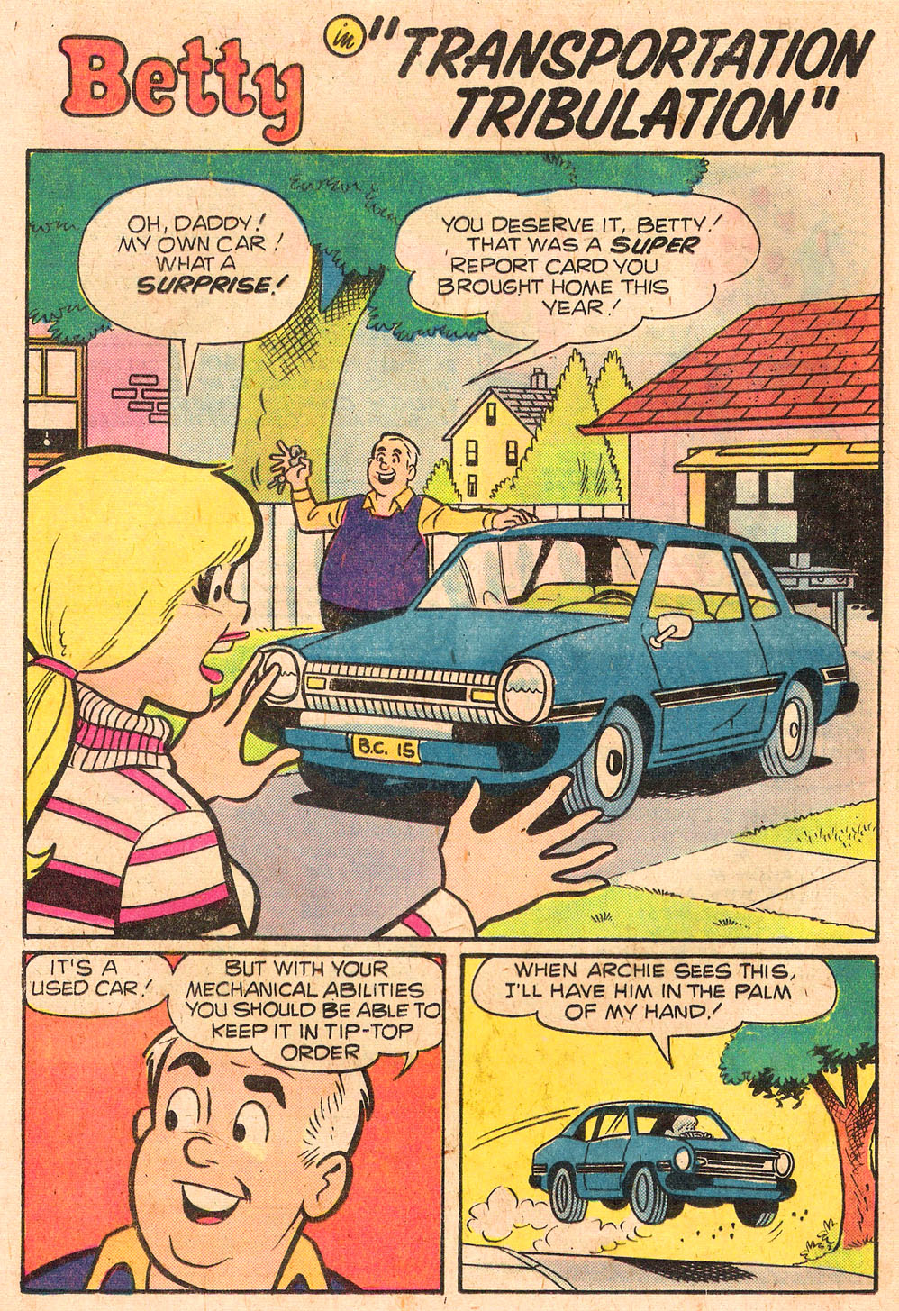 Read online Archie's Girls Betty and Veronica comic -  Issue #258 - 20