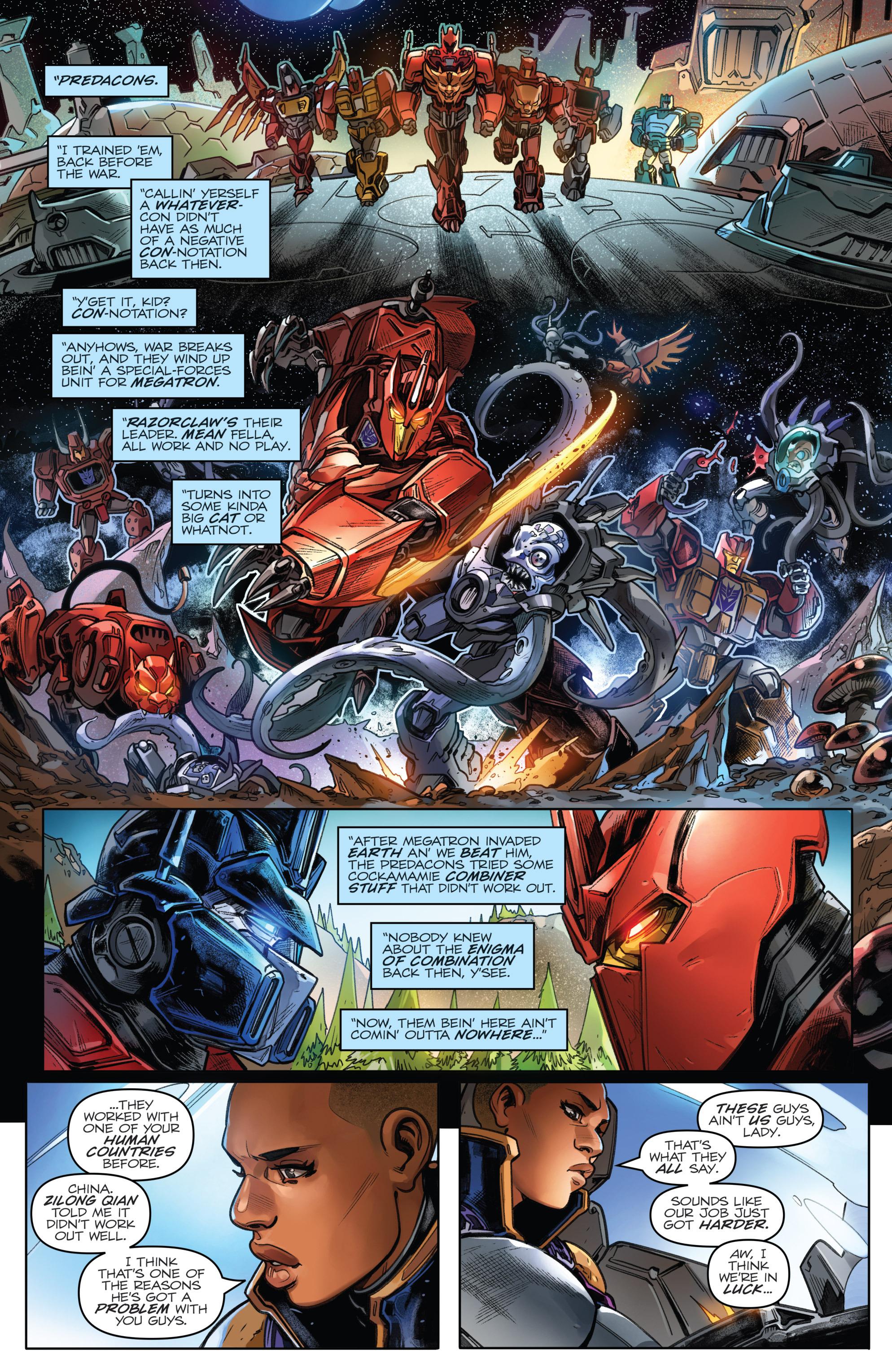 Read online Revolutionaries comic -  Issue #4 - 8