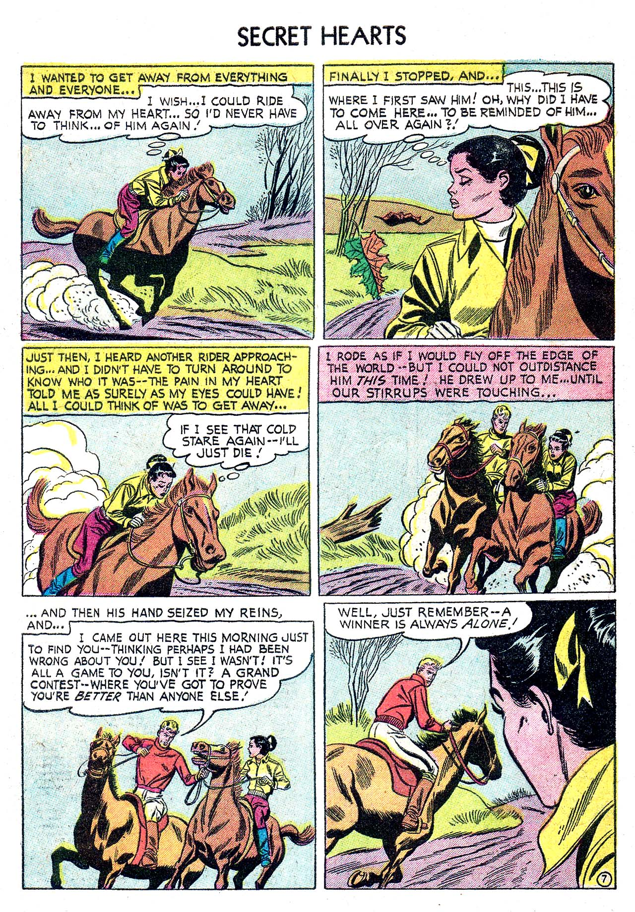 Read online Secret Hearts comic -  Issue #32 - 32