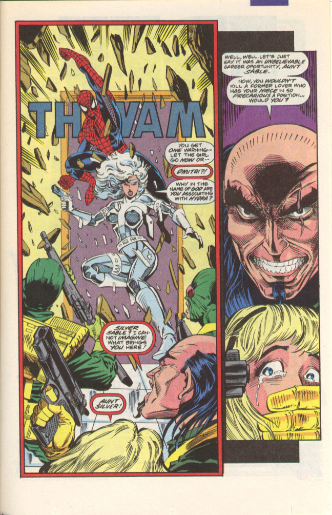 Read online Silver Sable and the Wild Pack comic -  Issue #1 - 21