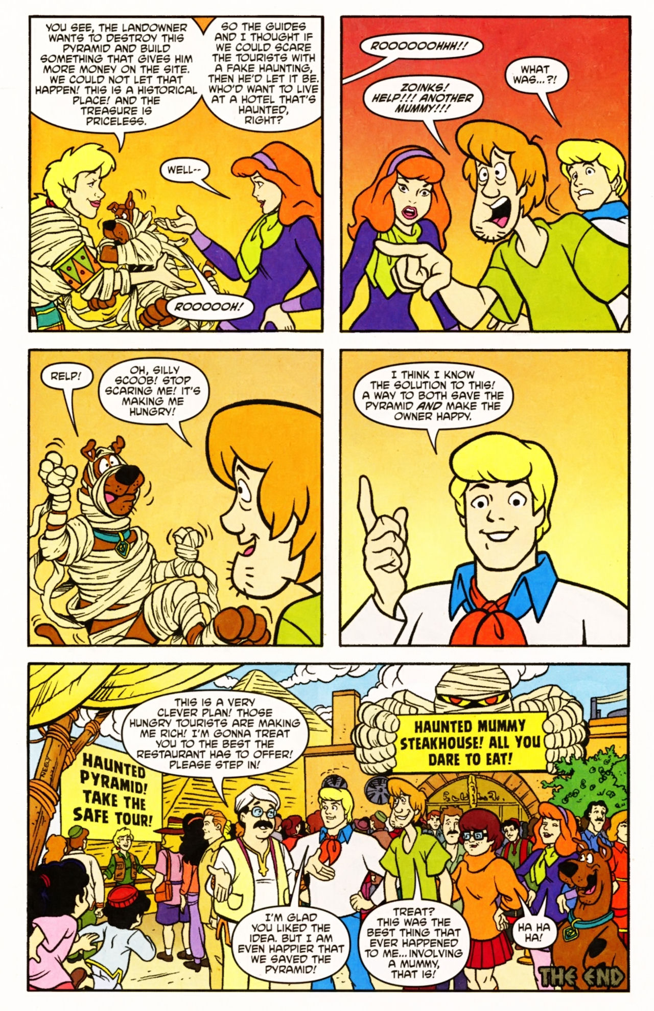 Read online Scooby-Doo (1997) comic -  Issue #154 - 21