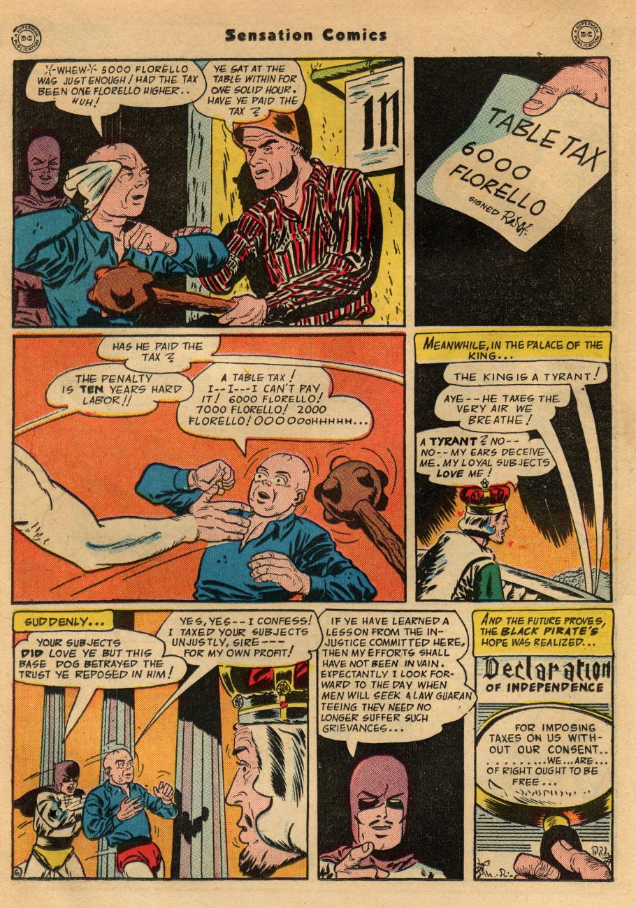 Read online Sensation (Mystery) Comics comic -  Issue #49 - 36