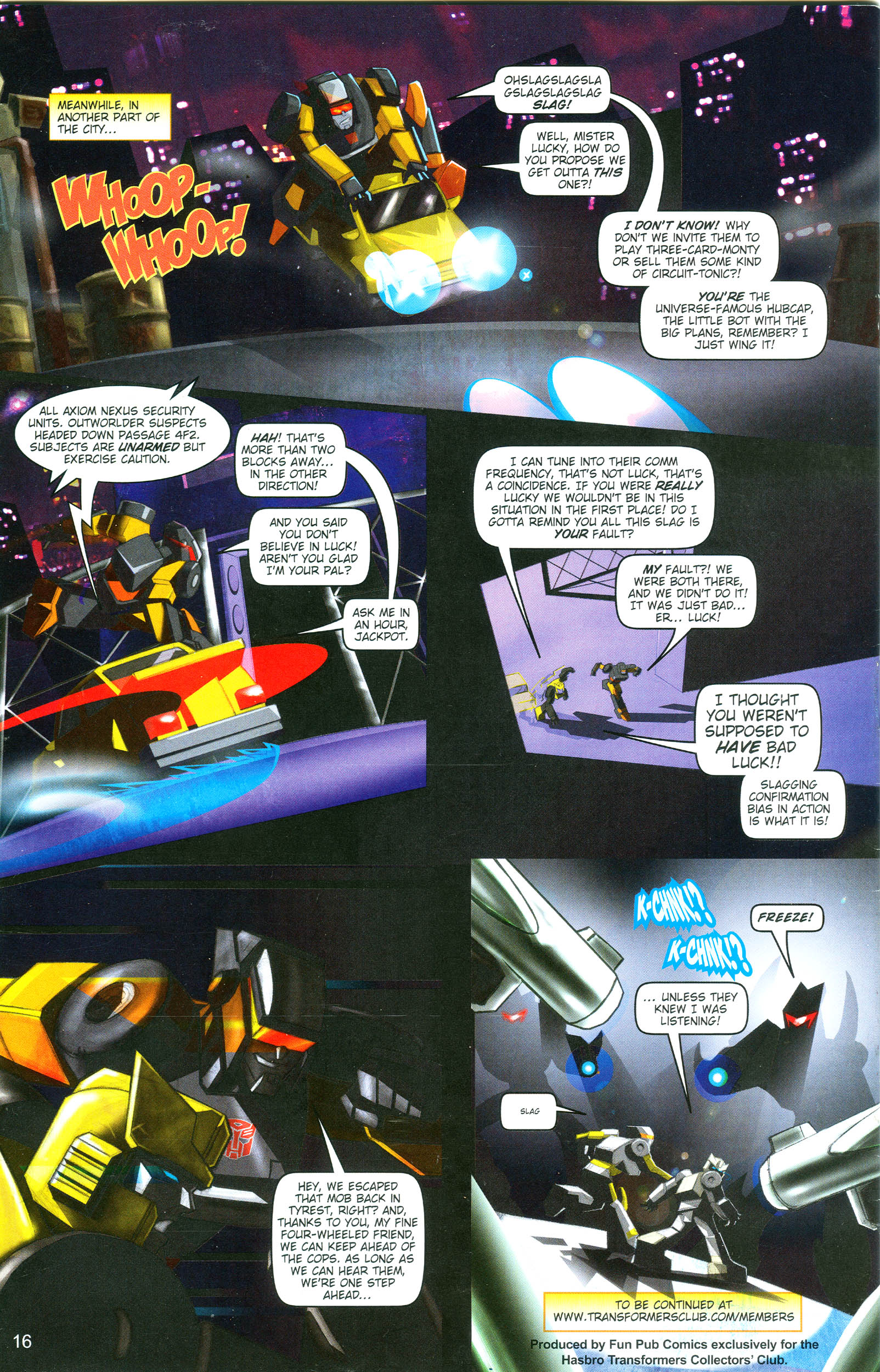 Read online Transformers: Collectors' Club comic -  Issue #19 - 16