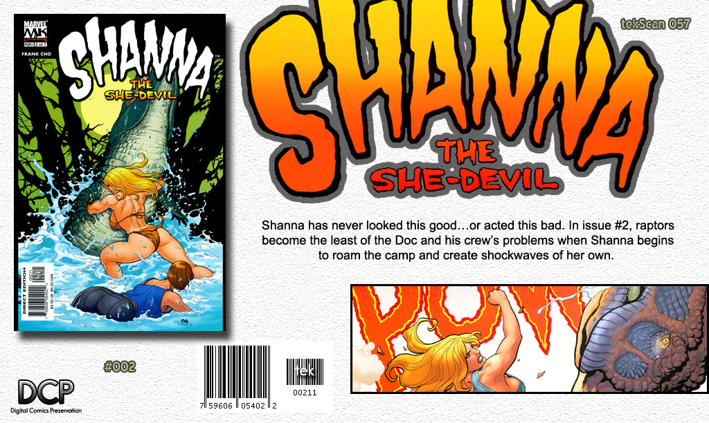 Read online Shanna, the She-Devil (2005) comic -  Issue #2 - 24