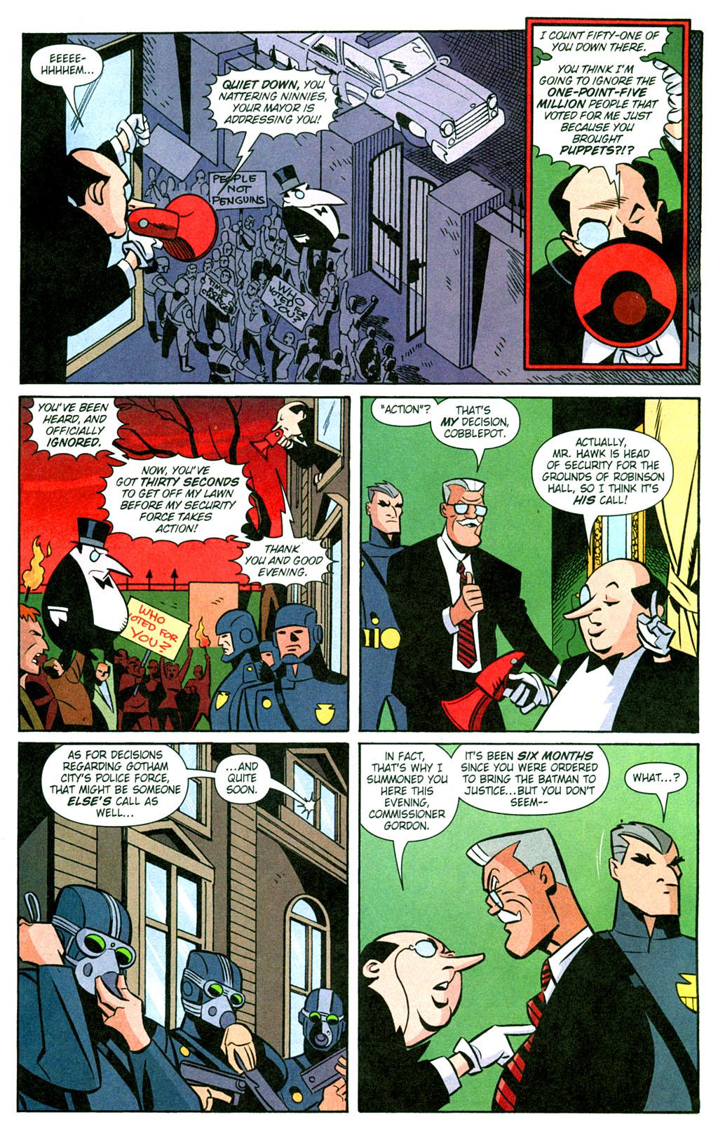 read online batman adventures 2003 comic issue 13
